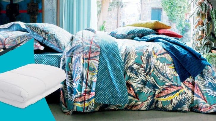couette d ete legere free couette ete legere avec couette lin brun de vian tiran sur idees de. Black Bedroom Furniture Sets. Home Design Ideas