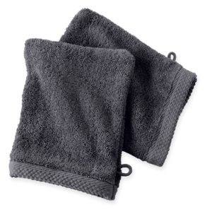 Gants de toilette anthracite