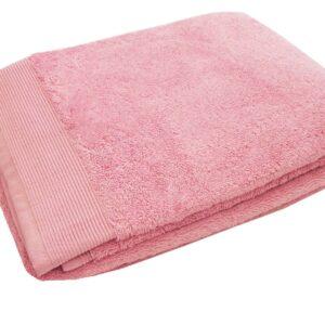 Drap de douche/ Serviette de toilette bois de rose