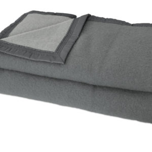 Couverture polaire anthracite
