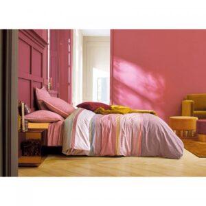 Parure de lit weekend de bois rose