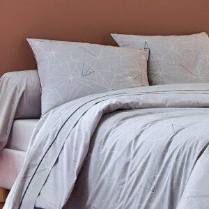 parure de lit ombrelle platine