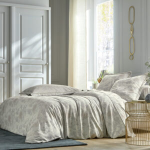 Parure de lit sakura argente